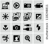 photo icons | Shutterstock .eps vector #118248811