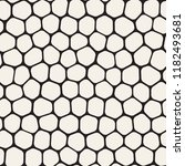 seamless irregular lines vector ... | Shutterstock .eps vector #1182493681