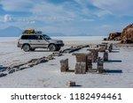 salar de uyuni  bolivia  march...   Shutterstock . vector #1182494461