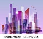 modern cityscape concept... | Shutterstock . vector #118249915
