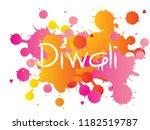 diwali or deepavali   festival... | Shutterstock .eps vector #1182519787