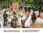 vilnius  lithuania   july 06 ... | Shutterstock . vector #1182529657