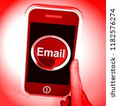 malicious emails spam malware... | Shutterstock . vector #1182576274