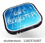 wifi booster wireless extension ... | Shutterstock . vector #1182576307