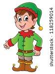 christmas elf theme 1   vector... | Shutterstock .eps vector #118259014