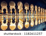 sheikh zayed mosque   Shutterstock . vector #1182611257