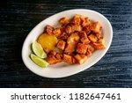 colombian fried pork belly ... | Shutterstock . vector #1182647461