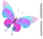beautiful pink butterflies...   Shutterstock . vector #1182656461