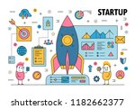 business startup poster banner...