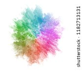 abstract colorful watercolor... | Shutterstock . vector #1182713131