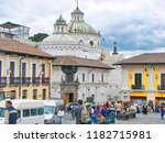 quito  ecuador 20 august  2016  ... | Shutterstock . vector #1182715981