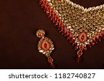 authentic traditional indian...   Shutterstock . vector #1182740827