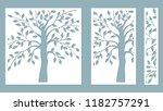 laser cut. vector design. laser ... | Shutterstock .eps vector #1182757291