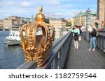 stockholm city in sweden.... | Shutterstock . vector #1182759544