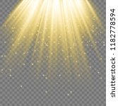 spotlight. rays of light... | Shutterstock .eps vector #1182778594