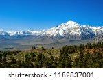 california sierra nevada ... | Shutterstock . vector #1182837001