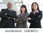 an attractive team of diverse... | Shutterstock . vector #11828671