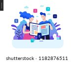 business series  color 2  ... | Shutterstock .eps vector #1182876511