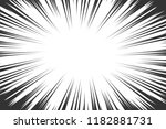 comic book radial lines... | Shutterstock . vector #1182881731