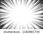 comic book radial lines... | Shutterstock . vector #1182881734
