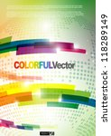 abstract colorful background.... | Shutterstock .eps vector #118289149