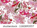 seamless pattern with... | Shutterstock .eps vector #1182893557