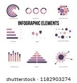 infographic elements  trendy... | Shutterstock .eps vector #1182903274