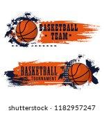 Basketball Game Banner  Team...