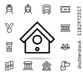 birdhouse icon. web icons... | Shutterstock .eps vector #1182972517