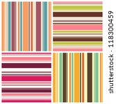 set of colored backgrounds with ... | Shutterstock .eps vector #118300459