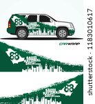 car wrap design for saudi... | Shutterstock .eps vector #1183010617