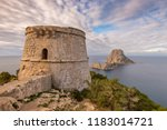 Medieval Pirate Tower In Ibiza...