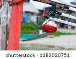 fishing boat lighting halogen... | Shutterstock . vector #1183020751