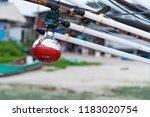 fishing boat lighting halogen... | Shutterstock . vector #1183020754
