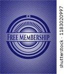 free membership with denim... | Shutterstock .eps vector #1183020997