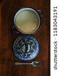 sugar bowl made of talavera   Shutterstock . vector #1183043191