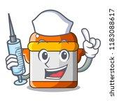 nurse cartoon rice electric...   Shutterstock .eps vector #1183088617