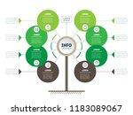 vertical timeline infographics. ... | Shutterstock .eps vector #1183089067