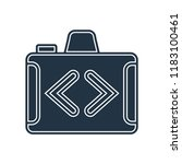 switch camera icon vector... | Shutterstock .eps vector #1183100461