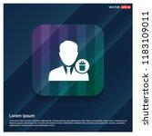 avatar icon design vector | Shutterstock .eps vector #1183109011