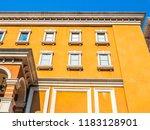 beautiful architecture building ... | Shutterstock . vector #1183128901