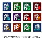 protection of residential and...   Shutterstock .eps vector #1183133467