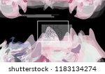 abstract cover template with... | Shutterstock .eps vector #1183134274