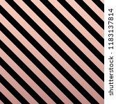 rose gold glittering diagonal... | Shutterstock .eps vector #1183137814