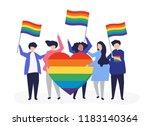 character illustration of... | Shutterstock .eps vector #1183140364