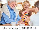 Senior Group With Dementia...