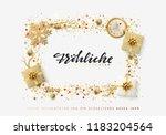 german text frohliche... | Shutterstock .eps vector #1183204564
