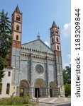 the basilica of sant'andrea at...   Shutterstock . vector #1183209844