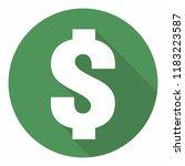 vector financial icon of the... | Shutterstock .eps vector #1183223587