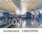 hong kong  june 02  2018 ... | Shutterstock . vector #1183259041